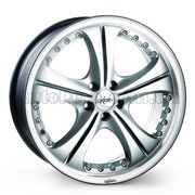 Oxigin 2 9,5x18 5x120 ET35 DIA72,6 (chrome silver)