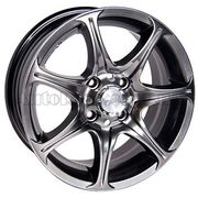 Racing Wheels H-134 5,5x13 4x100 ET35 DIA67,1 (BK-F/P)