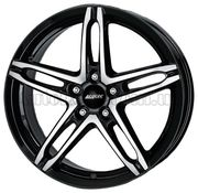 Alutec Poison 7x16 5x108 ET48 DIA70,1 (diamond black front polished)