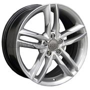 For Wheels AU 555f (Audi) 7,5x17 5x112 ET 35 Dia 66,5 (черный матовый)