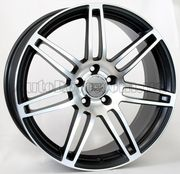 WSP Italy Audi (W557) S8 Cosma Two 8x18 5x112 ET45 DIA57,1 (black polished)
