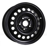 Steel Kapitan 5,5x14 4x100 ET46 DIA54,1 (black)
