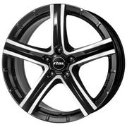 Rial Quinto 9,5x20 5x150 ET52 DIA110,1 (diamond black front polished)