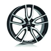 Rial Torino 6,5x16 5x108 ET50 DIA63,4 (diamond black front polished)